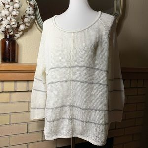 Anthropologie Wooden Ships Sweater